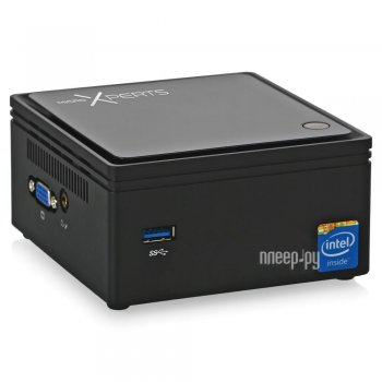 Неттоп MicroXperts A100-12 BRIX (Intel Celeron N2807 1.58 GHz/4096Mb/500Gb/No ODD/Intel HD Graphics/Wi-Fi/DOS)