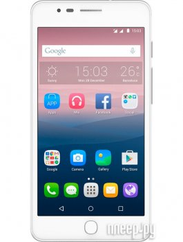 Смартфон Alcatel OneTouch 6044D POP UP White