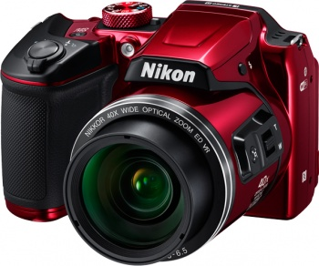 "Фотокамера Nikon Coolpix B500 Red <16Mp, 40x zoom, 3"", 1080P, WiFi, SDHC>"