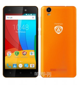 Смартфон Prestigio Wize N3 3507 DUO Orange PSP3507DUOORANGE