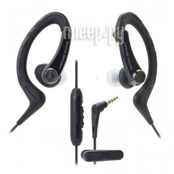 Наушники Audio-Technica ATH-SPORT1iS BK Black