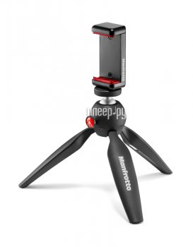 Штатив Manfrotto Mini Tripod Black MKPIXICLAMP-BK