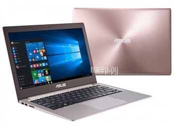 Ноутбук Asus UX303UA-R4008T 90NB08V3-M03340 (Intel Core i5-6200U 2.3 GHz/8192Mb/256Gb SSD/No ODD/Intel HD Graphics/Wi-Fi/Cam/13.3/1920x1080/Windows 10