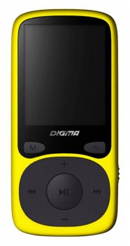 "Плеер MP3 Digma B3 8Gb желтый/1.8""/FM/microSD"