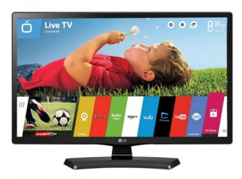 "Телевизор-LCD 24"" LG 24MT48S-PZ черный/HD READY/50Hz/DVB-T2/DVB-C/DVB-S2/USB/WiFi/Smart (RUS)"