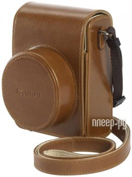 Чехол Canon DCC-1820 Leather Case for Powershot G1 X Mark II Brown