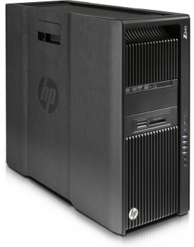 Системный блок HP Z840 Xeon E5-2680v4 (2.4)/32Gb/SSD512Gb/DVDRW/CR/Windows 10 Professional 64 +W7Pro/GbitEth/клавиатура/мышь/черный
