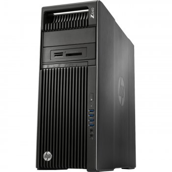 Системный блок HP Z640 Xeon E5-2620v4 (2.1)/16Gb/1Tb 7.2k/DVDRW/CR/Windows 10 Professional 64 +W7Pro/GbitEth/клавиатура/мышь/черный