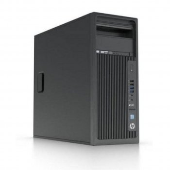Системный блок HP Z240 MT i5 6500 (3.2)/8Gb/500Gb 7.2k/HDG530/DVDRW/CR/Windows 10 Professional 64 +W7Pro/GbitEth/400W/клавиатура/мышь/черный