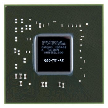 Видеочип G86-751-A2 nVidia GeForce 8600M GS, новый