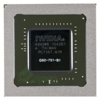 Видеочип G92-751-B1 nVidia GeForce GTX260M, новый