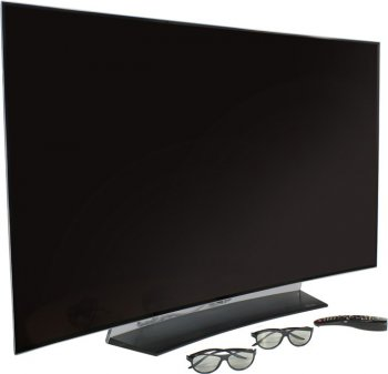 "Телевизор-LCD 55"" LG OLED55C6V титан/белый/Ultra HD/50Hz/3D/USB/WiFi/Smart (RUS)"