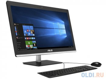 "Моноблок Asus V220IBGK (V220IBGK-BC009X) Pentium N3700 (1.6ГГц))/4Gb/1Tb/21,5""FHD/NV 930M 2Gb/Wi-Fi+BT/Cam/KB+M/Win10 Black"