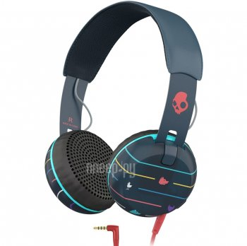 Наушники Skullcandy Grind Stripes Navy