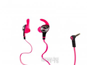 Наушники Monster iSport Intensity Pink 137018-00
