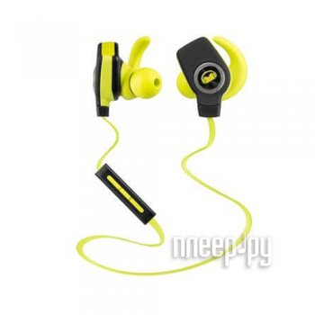 Наушники с микрофоном Monster iSport Bluetooth Wireless SuperSlim 128652-00 Green