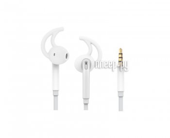 Наушники ROCK Mucu Stereo Earphone RAU0515 White