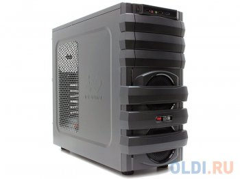Корпус InWin MG134 Black 500W USB/Audio/Fan