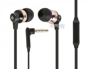 Наушники с микрофоном Monoprice Hi-Fi Reflective Sound Technology Earphones 12235 Black-Bronze