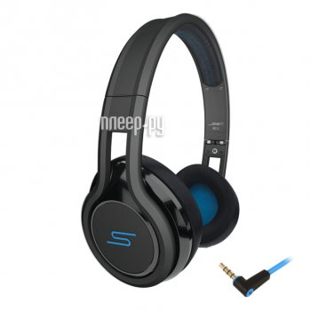 Наушники с микрофоном SMS Audio Street by 50 Wired On Ear Black SMS-ONWD-BLK