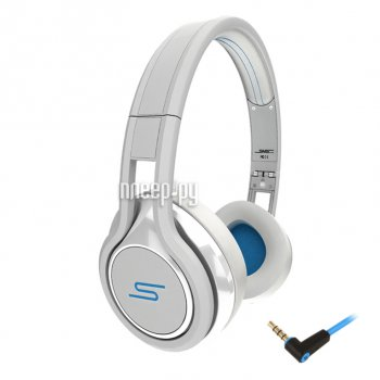 Наушники с микрофоном SMS Audio Street by 50 Wired On Ear White SMS-ONWD-WHT