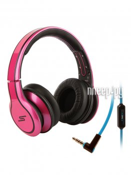 Наушники с микрофоном SMS Audio Street by 50 Wired Over-Ear Magenta SMS-WD-MAG