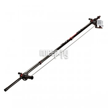 Монопод для селфи Joby Action Jib Kit & Pole Pack Black-Red