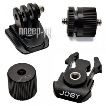 Крепление (набор) Joby Action Adapter Kit Black