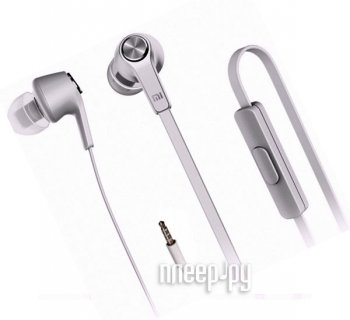 Наушники с микрофоном Xiaomi Piston Basic Edition Silver ZBW4309GL