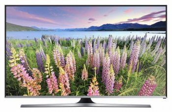 "Телевизор-LCD 40"" Samsung UE40J5550AUXRU черный/FULL HD/100Hz/DVB-T2/DVB-C/USB/WiFi/Smart (RUS)"