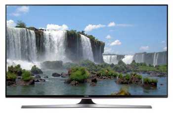 "Телевизор-LCD 55"" Samsung UE55J6330AUXRU черный/FULL HD/200Hz/DVB-T2/DVB-C/USB/WiFi/Smart (RUS)"