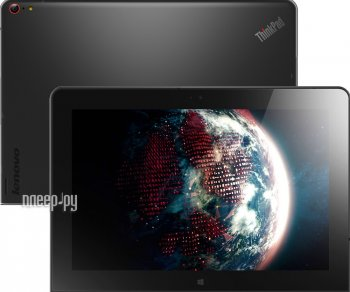 Планшетный компьютер Lenovo ThinkPad 10 20C1S06T00 (Intel Atom Z3795 1.59 GHz/4096Mb/128Gb/Wi-Fi/Cam/10.1/1920x1200/Windows 8.1 64-bit)