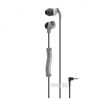Наушники с микрофоном Skullcandy Method Light Grey-Grey S2CDGY-405