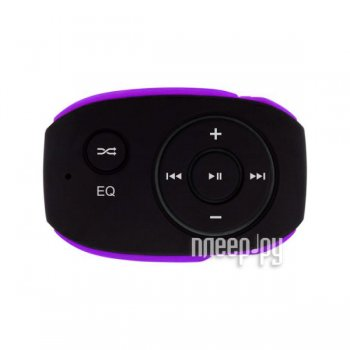 Плеер MP3 Texet T-24 8Gb Black-Purple