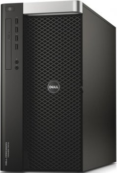Системный блок Dell Precision T7910 MT Xeon E5-2630v3 (2.4)/32Gb/500Gb 7.2k/SSD256Gb/M4000 8Gb/DVDRW/Windows 7 Professional 64 +W8.1Pro/GbitEth/1300W/