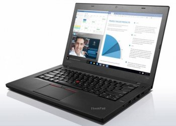 "Ноутбук Lenovo ThinkPad T460 Core i3 6100U/4Gb/SSD192Gb/Intel HD Graphics 520/14""/HD/Windows 10 Professional 64 dwnW7Pro64/black/WiFi/BT"