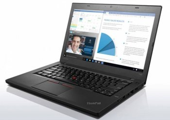 "Ноутбук Lenovo ThinkPad T460 i5 6200U/8Gb/SSD256Gb/Intel HD Graphics 520/14""/FHD/Windows 10 Professional 64 dwnW7Pro64/black/WiFi/BT"