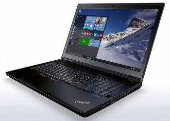 "Ноутбук Lenovo ThinkPad P70 Xeon E3-1505M/16Gb/1Tb/SSD256Gb/DVD-RW/nVidia Quadro M3000M 4Gb/17.3""/IPS/FHD (3840x2160)/Windows 7 Professional 64 +W10Pr"
