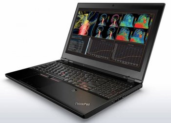 "Ноутбук Lenovo ThinkPad P50 Core i7 6700HQ/16Gb/1Tb/SSD256Gb/DVD-RW/nVidia Quadro M1000M 2Gb/15.6""/IPS/FHD (1920x1080)/Windows 7 Profession"
