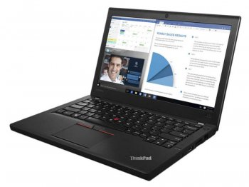 "Ноутбук Lenovo ThinkPad X260 Core i7 6500U/8Gb/SSD256Gb/Intel HD Graphics/12.5""/IPS/HD (1920x1080)/Windows 7 Professional 64 +W10Pro/black/WiFi/BT"