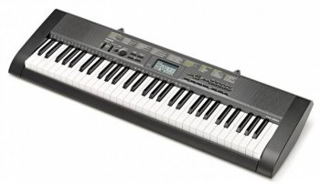 Синтезатор Casio CTK-1250 черный