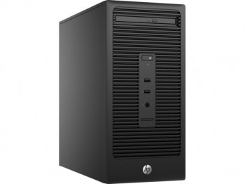 Системный блок HP 280 G2 MT i3 6100/4Gb/SSD128Gb/HDG/DVDRW/Windows 10 Professional/Eth/клавиатура/мышь