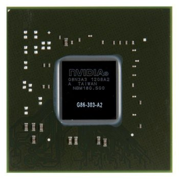Видеочип G86-303-A2 nVidia GeForce 8500 GT, новый