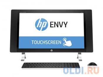 "Моноблок HP Envy 27-p272ur AiO <X1A82EA> i7-6700T/16GB/2T+8Gb SSD/27"" IPS WLED/QHD touch/R9 A375 4GB/ WiFi/ cam/wl KB+Mouse/ Win10"