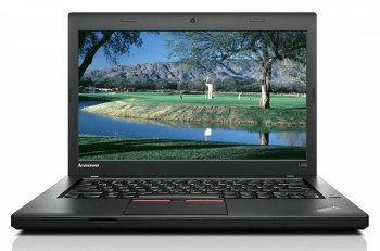 "Ноутбук Lenovo ThinkPad L450 Core i3 5005U/4Gb/500Gb/SSD8Gb/Intel HD Graphics 5500/14""/HD (1366x768)/Free DOS/black/WiFi/BT/Cam/4400mAh"