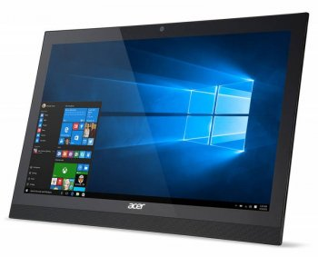 "Моноблок Acer Aspire Z1-622 21.5"" Full HD P N3710 (1.6)/4Gb/1Tb/HDG/DVDRW/CR/Free DOS/Eth/WiFi/BT/клавиатура/мышь/Cam/черный 1920x1080"
