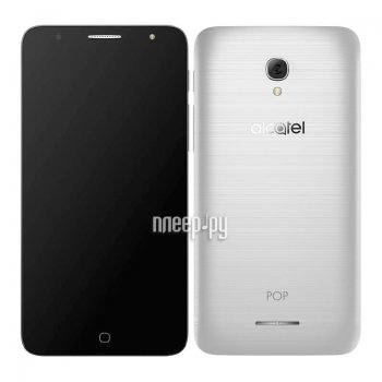 Смартфон Alcatel OneTouch 5056D Pop 4 Metal Silver