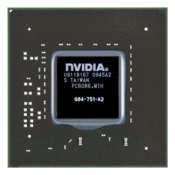 Видеочип G84-751-A2 nVidia GeForce 8700M GT, новый