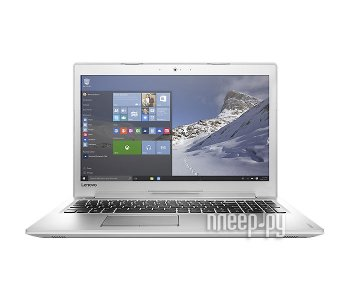 Ноутбук Lenovo IdeaPad 510-15ISK 80SR00B8RK (Intel Core i7-6500U 2.5 GHz/12288Mb/1000Gb/No ODD/nVidia GeForce 940MX 2048Mb/Wi-Fi/Cam/15.6/1920x1080/Wi