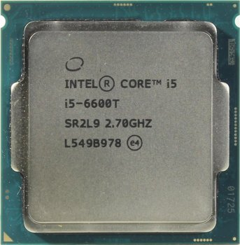 Процессор Intel Core i5-6600T 2.7 GHz/4core/SVGA HD Graphics 530/1+6Mb/35W/ LGA1151